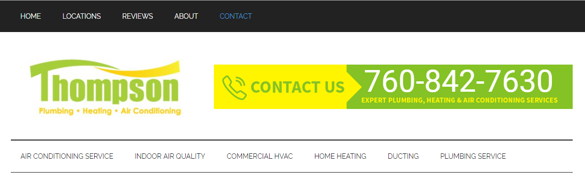 Thompson Plumbing, Heating & Air Conditioning